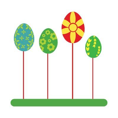 Πασχαλινά Αυγά με χρώμα