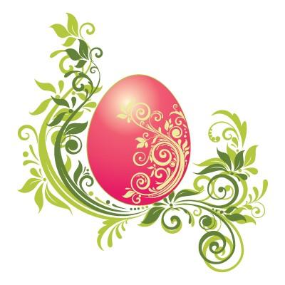 Πασχαλινό αβγό με Tribal