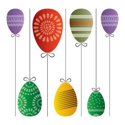 Κρεμαστά αυγά