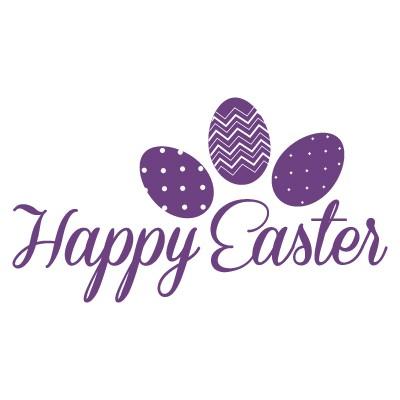 Kαλό Πάσχα γραμματοσειρά με 3 αυγά
