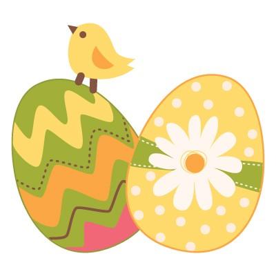 Κοτοπουλάκι με πασχαλινά αυγά!