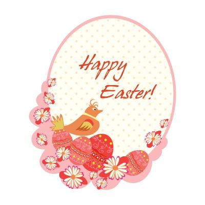 Happy Easter Bird