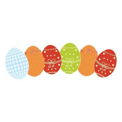 Πολύχρωμα Πασχαλινά αυγά!!!
