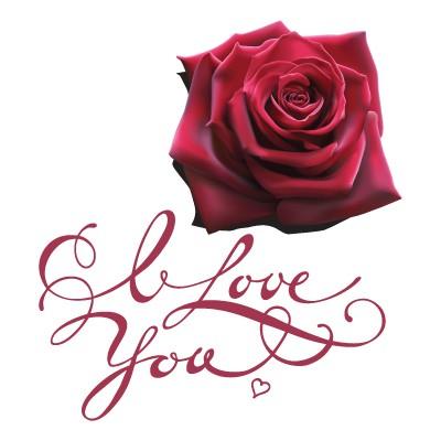 Τριαντάφυλλα και ''I love you''