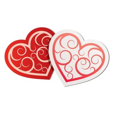 Δυο καρδιές ενωμένες