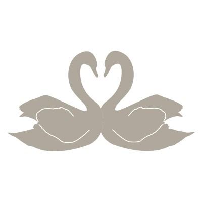Κύκνοι σε σχήμα καρδιάς