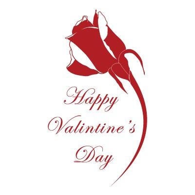 Happy valentines Day τριαντάφυλλο