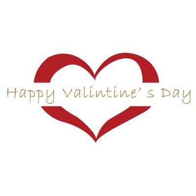 Happy valentines Day κόκκινο περίγραμμα καρδιάς