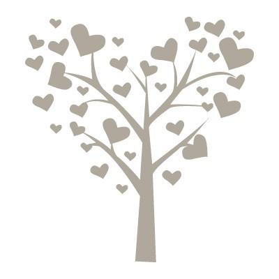 Δέντρο με φύλλα καρδιάς