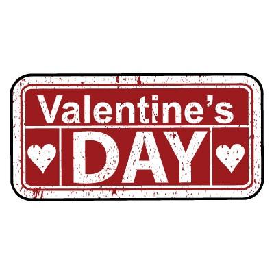 Valentine Day πινακίδα