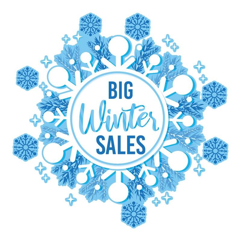 Μπλε Winter Sale