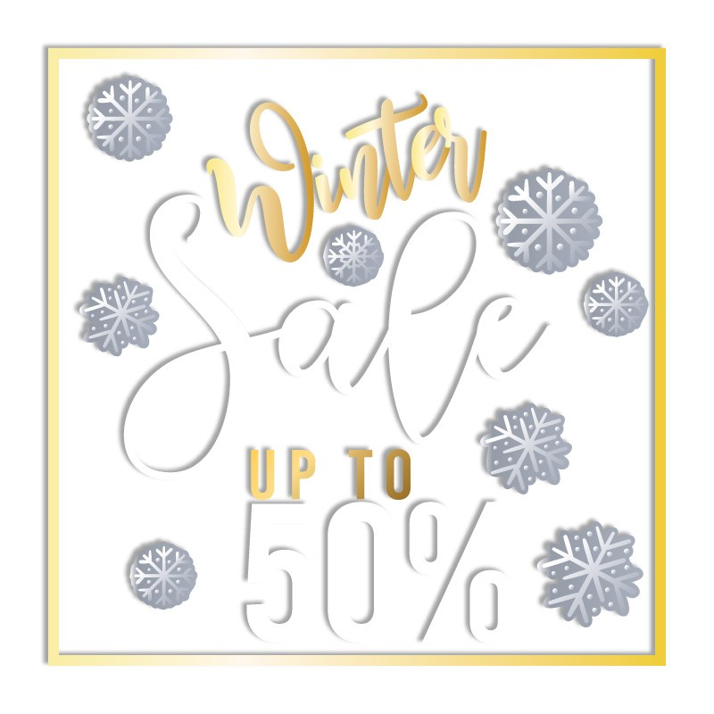 Χρυσό Winter Sale Up to 50%