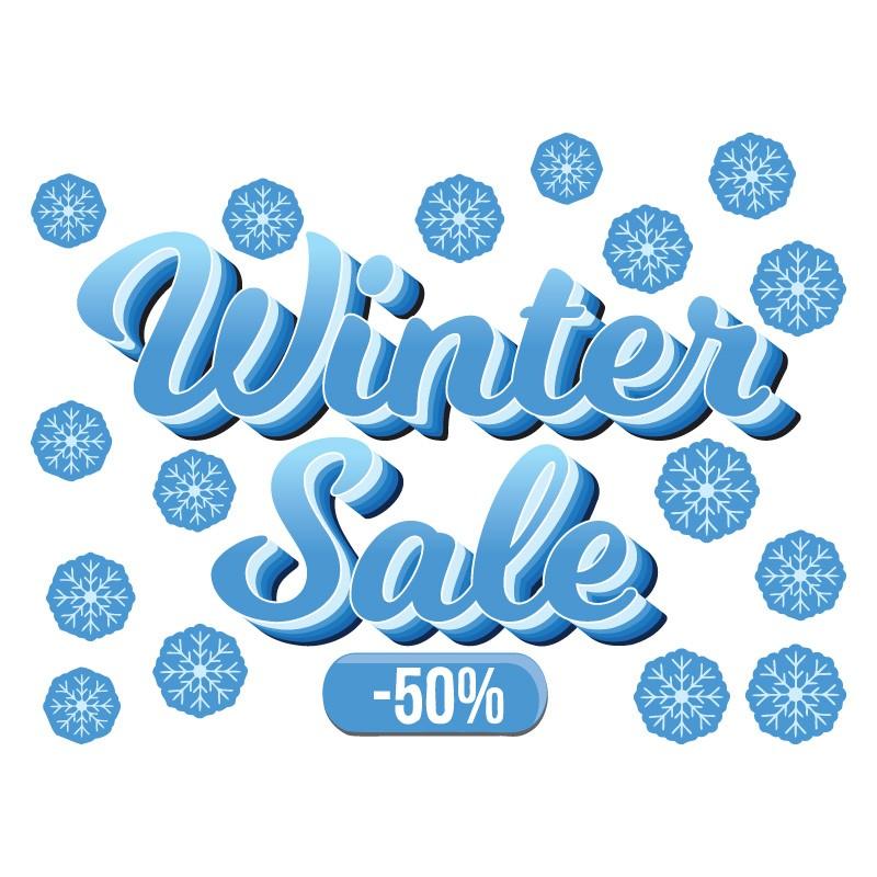 Μπλε 50% Winter Sale