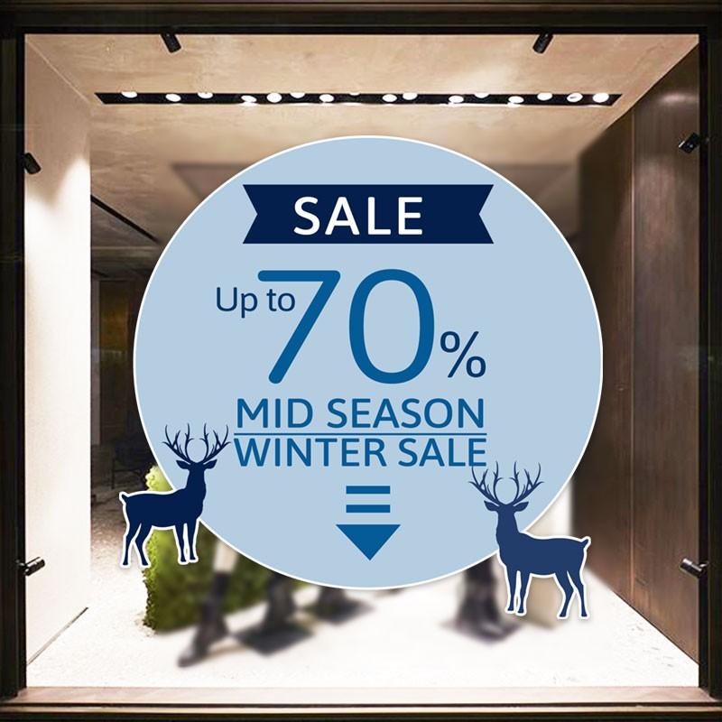 Μπλε Mid Season Winter Sale