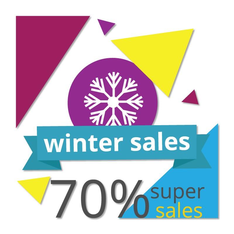 Winter Super Sales 70%