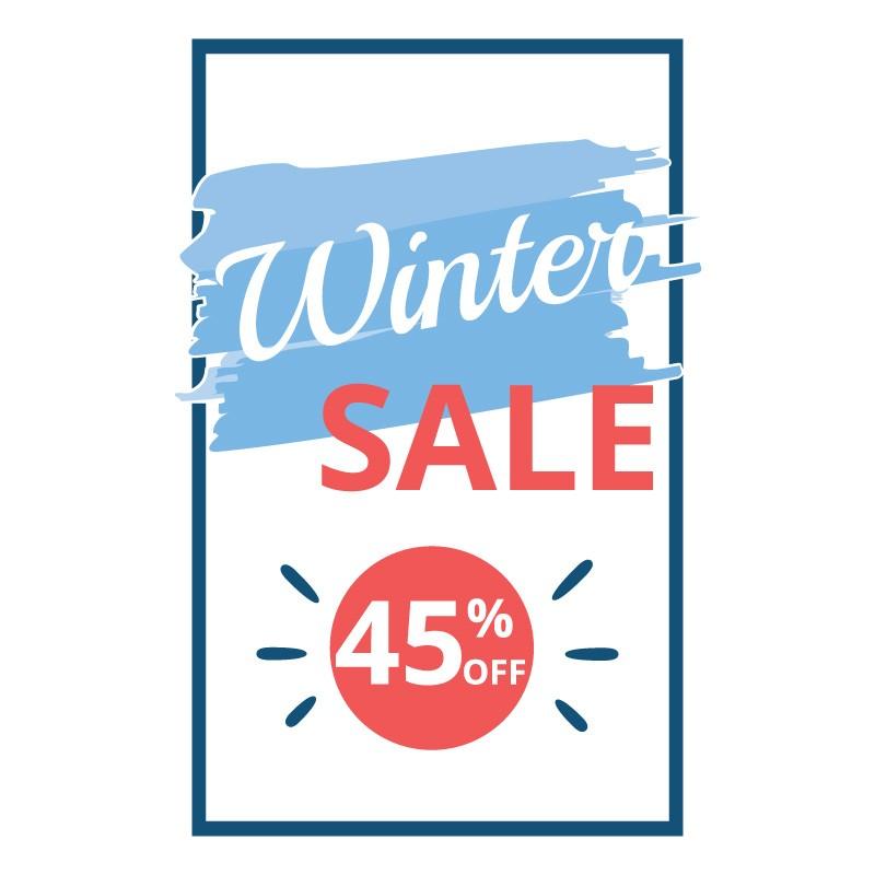 Winter Sale 45%