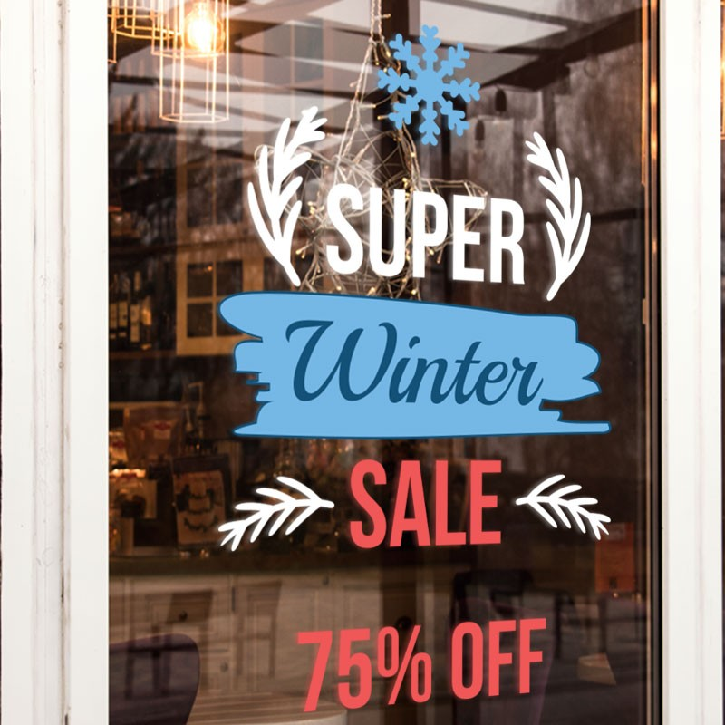 Super Winter Sale Up to 75%