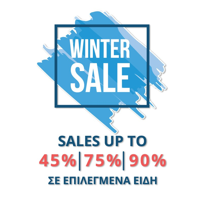 Winter Sales up to 45%, 75%, 90%