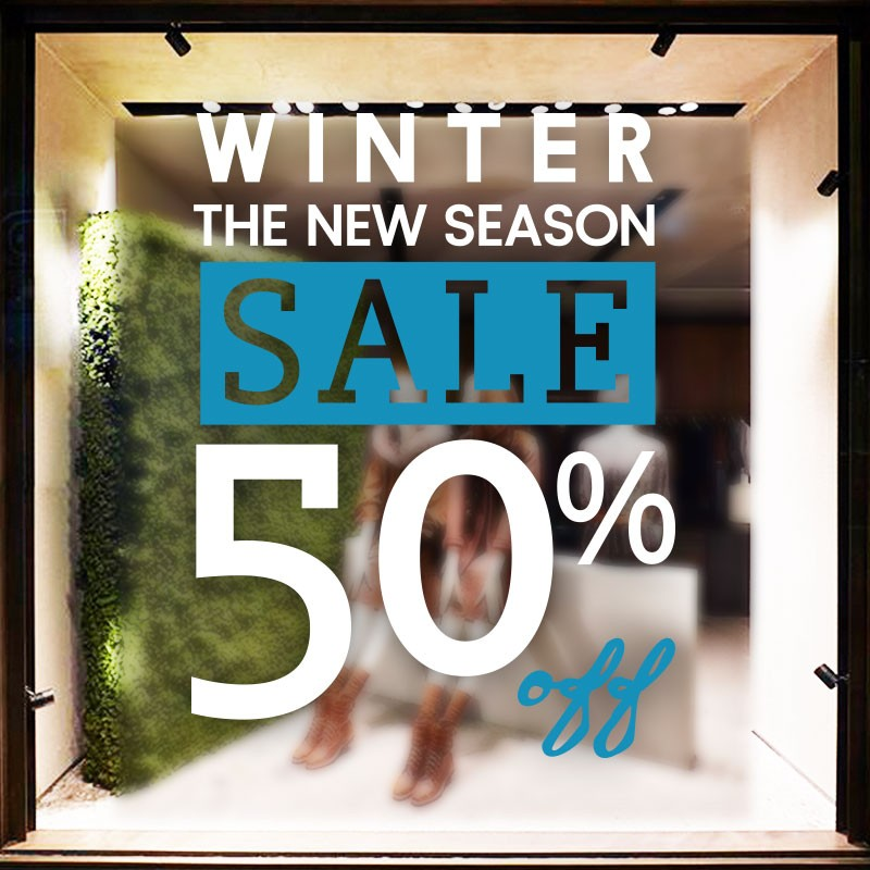 Winter the New Season Sale