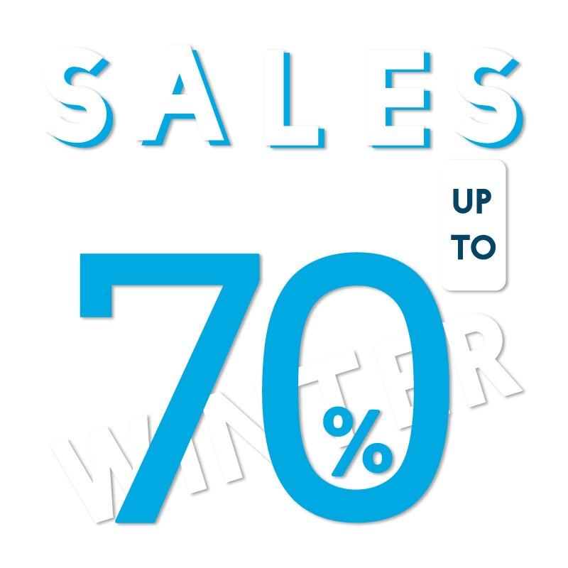 Μπλε Sales up to 70%