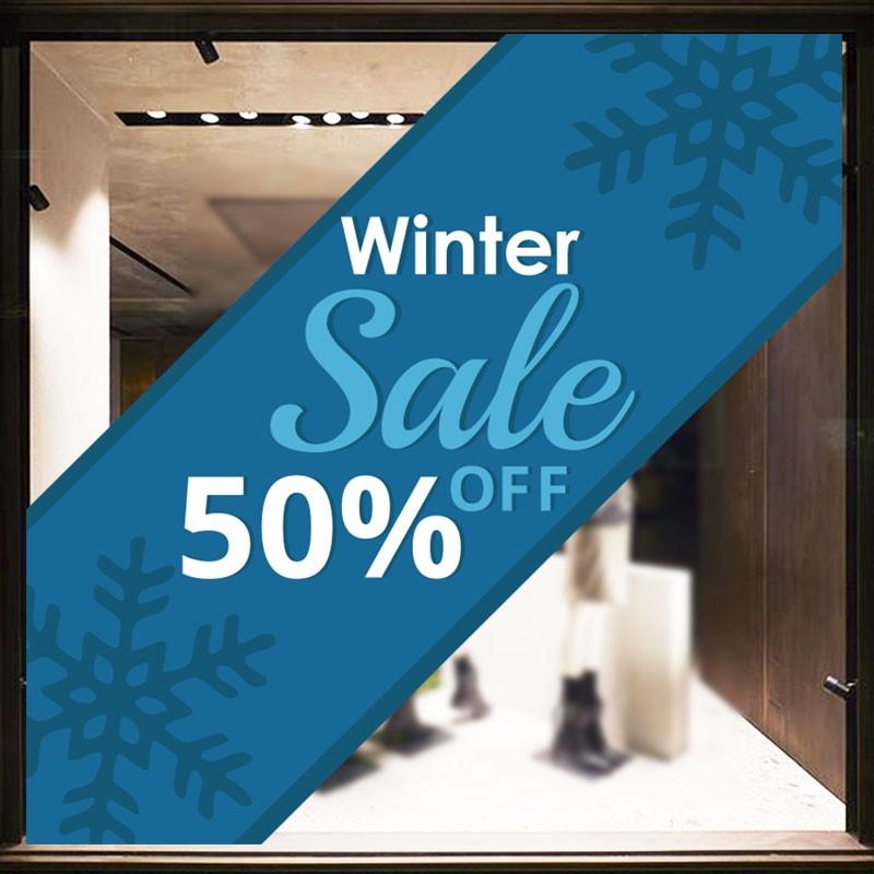 Μπλε 50% Off Winter Sale