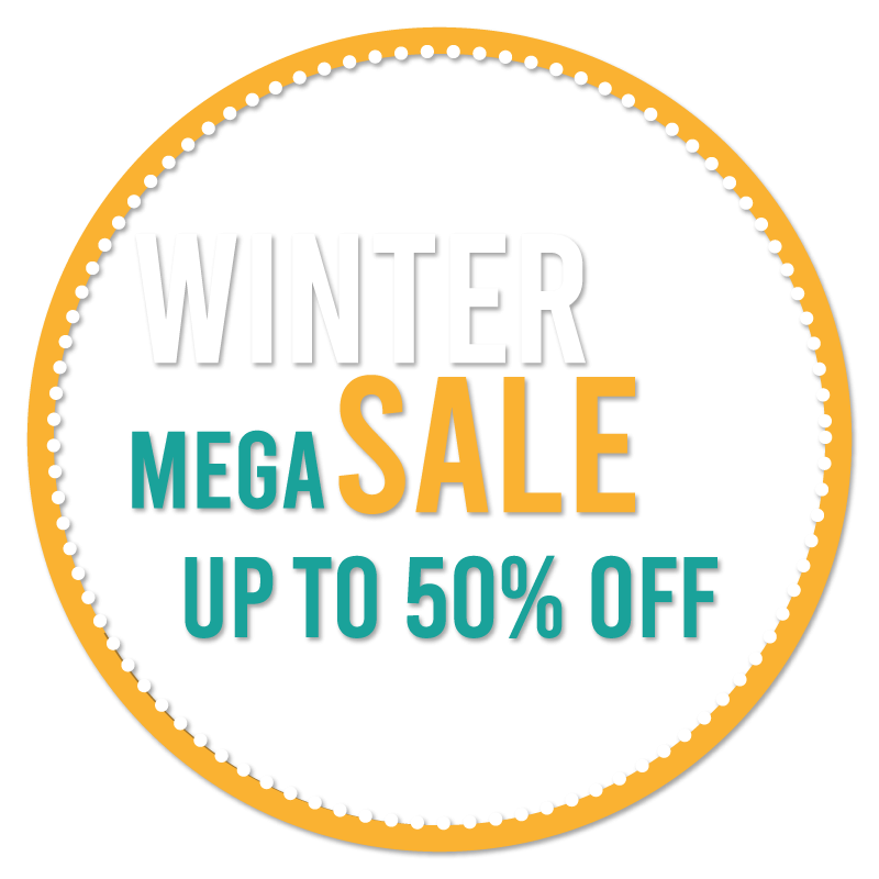 Winter Mega Sale 50%
