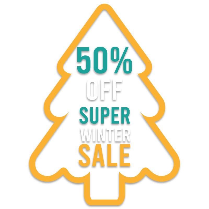 Super Winter Sale 50%