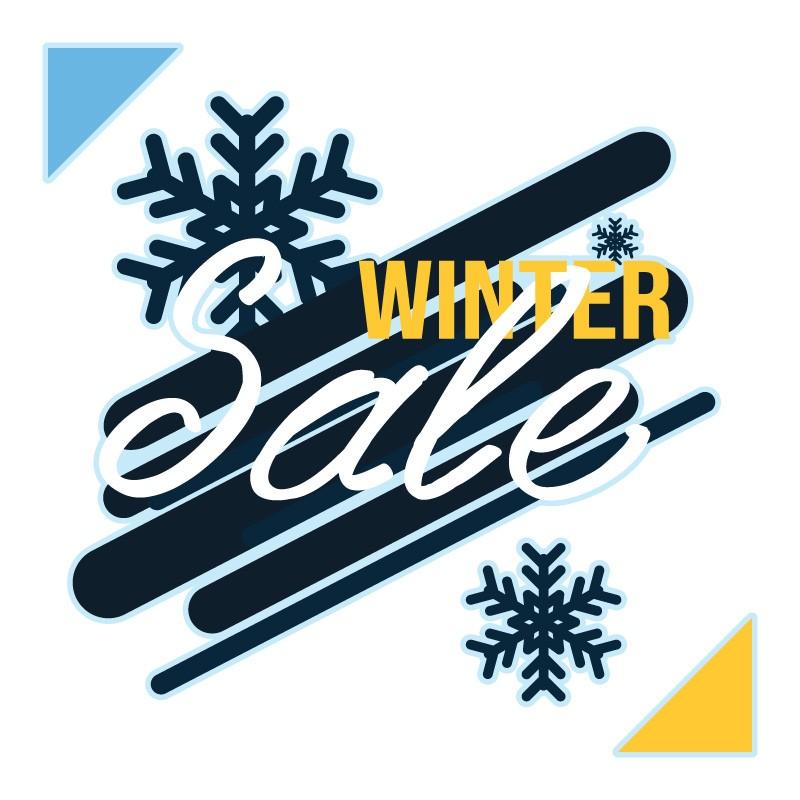 Blue-yellow Winter Sale
