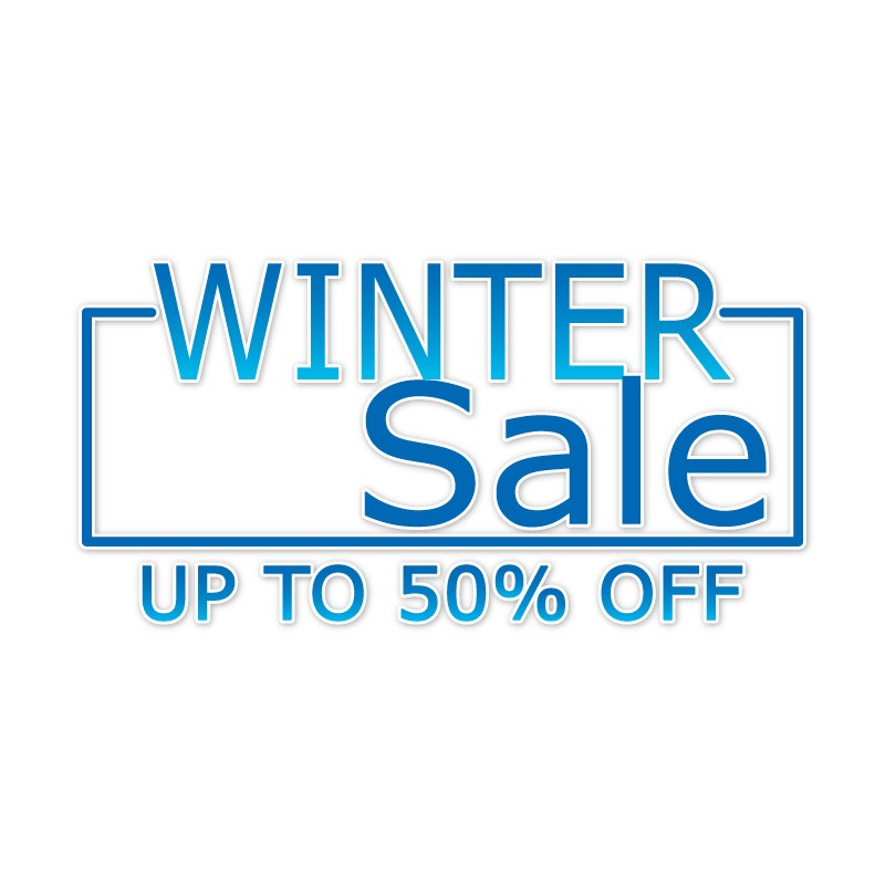 Blue Winter Sale 50%