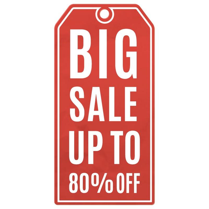 Κόκκινο Big Sale 80%