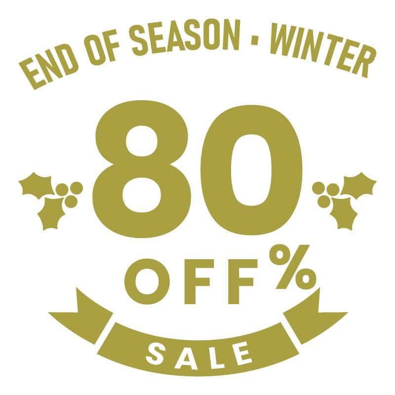 End of Season 80%