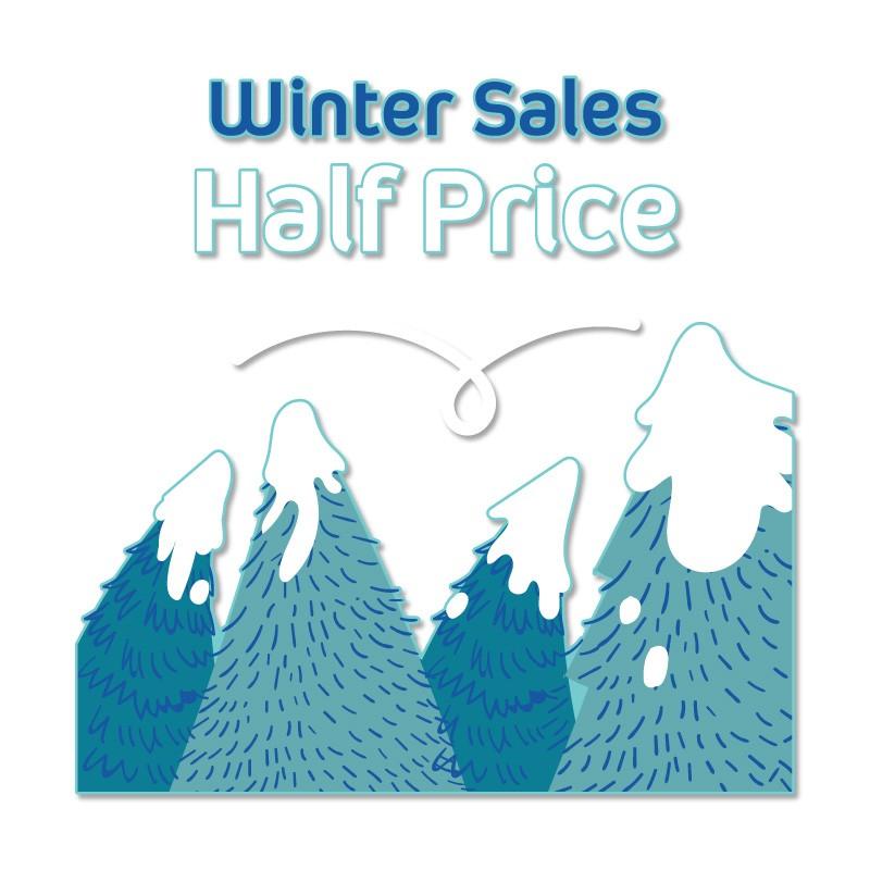 Winter Sales Half Price