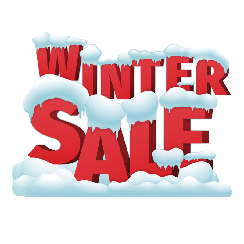 Winter Sale Red