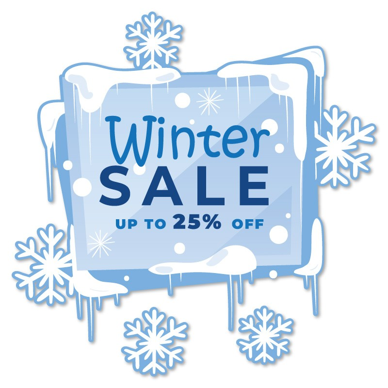 Winter Sale up to 25%