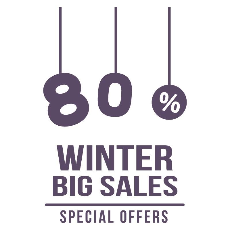 80% Winter Big Sales