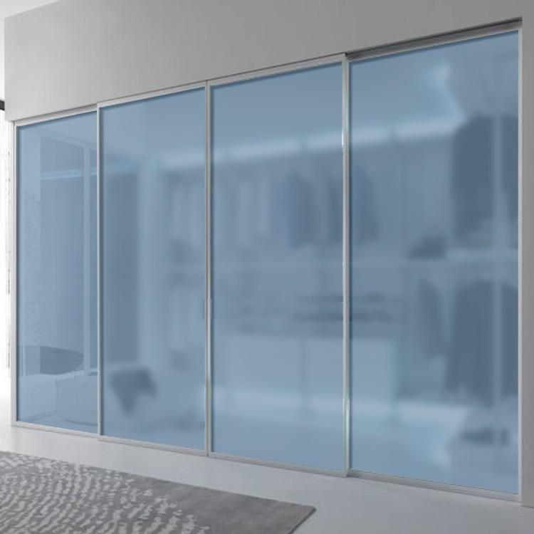 Blue closet