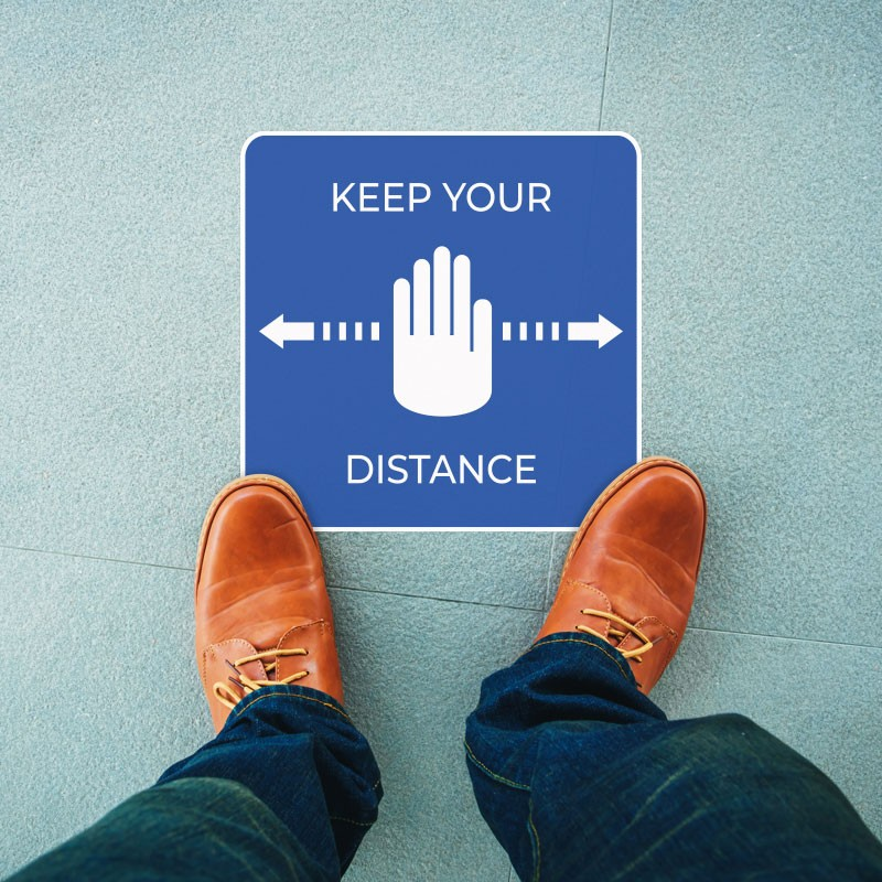 Keep Your Distance Μπλε