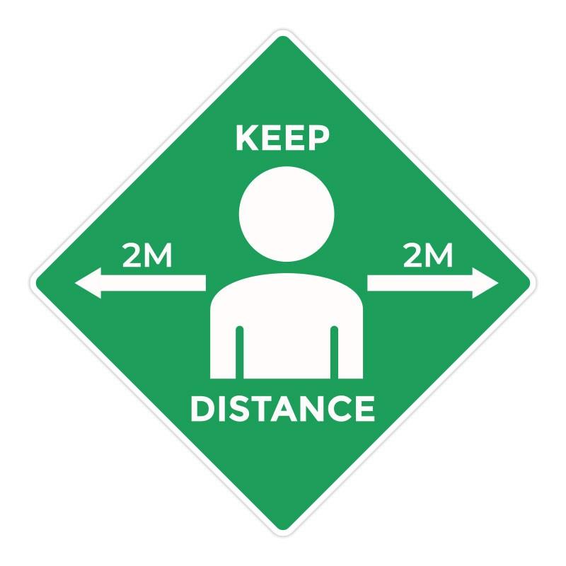 Keep Distance Πράσινο