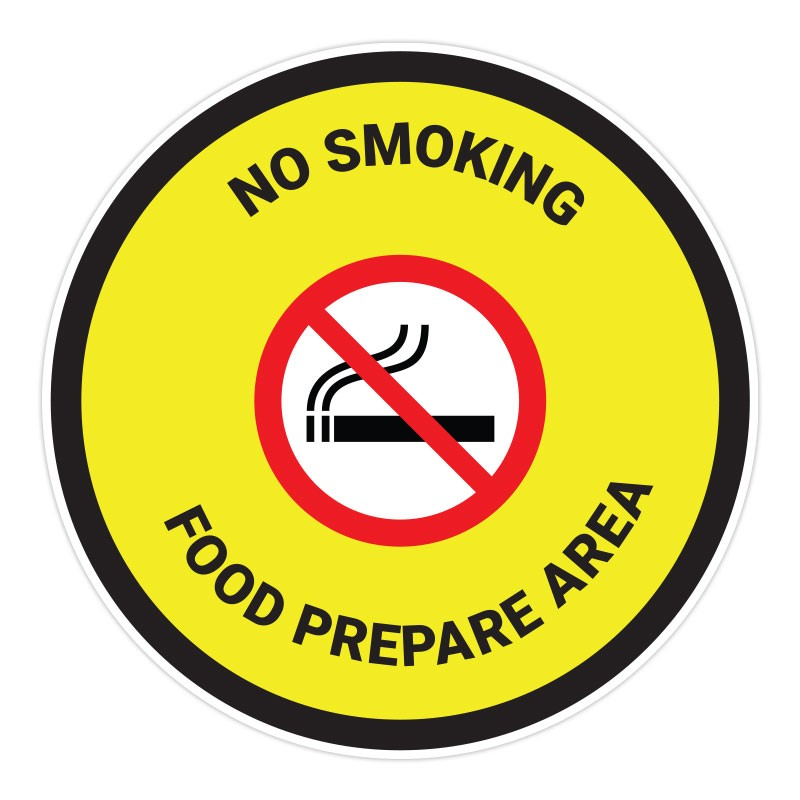 No Smoking - Food Prepare Area