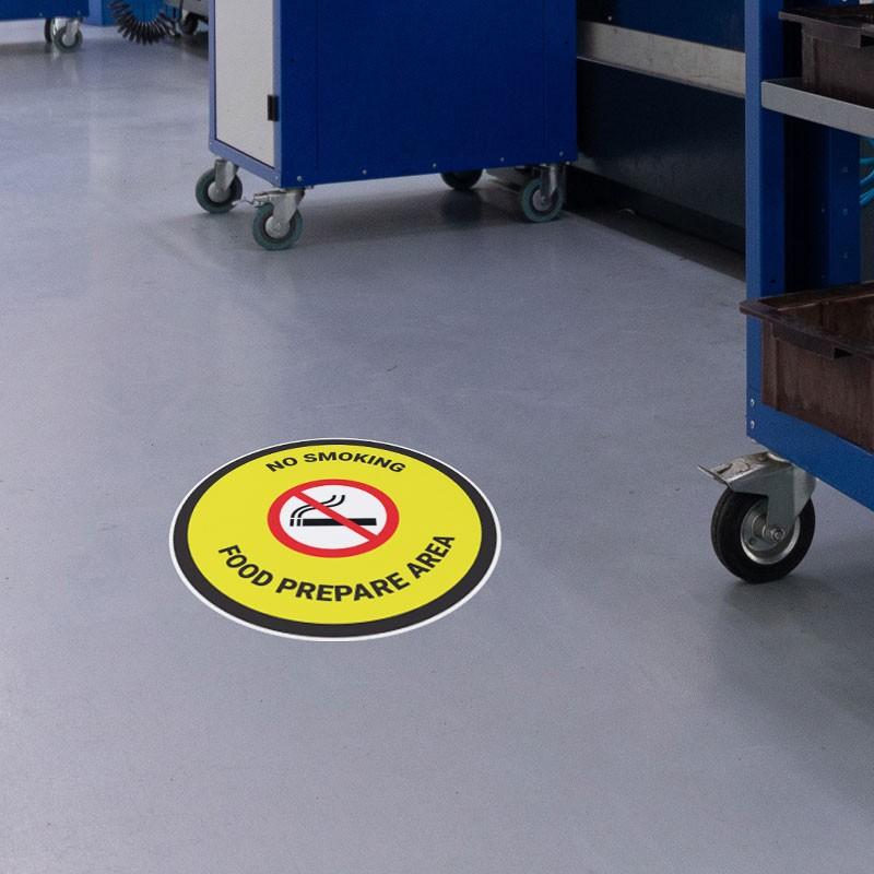 No Smoking - Food Prepare Area