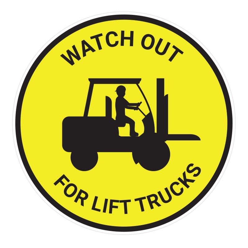 Watch Out For Lift Trucks