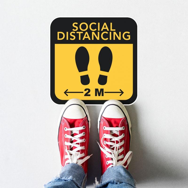 SOCIAL DISTANCING 2M