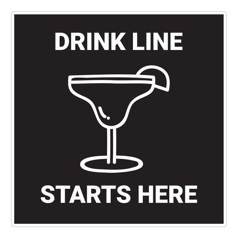 DRINK LINE STARTS HERE