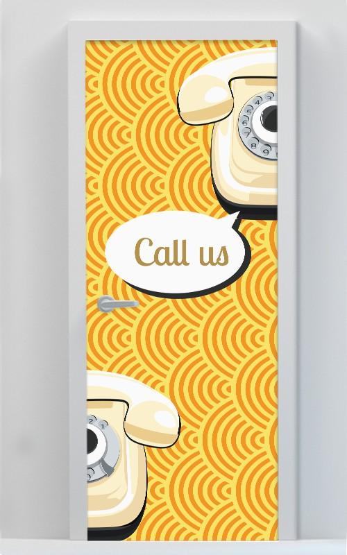 Call Us με Μοτίβο
