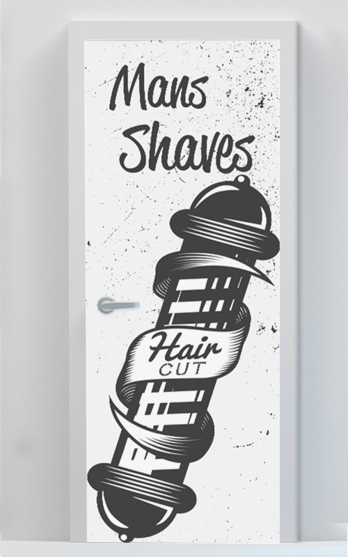 Mans Shaves - Haircut