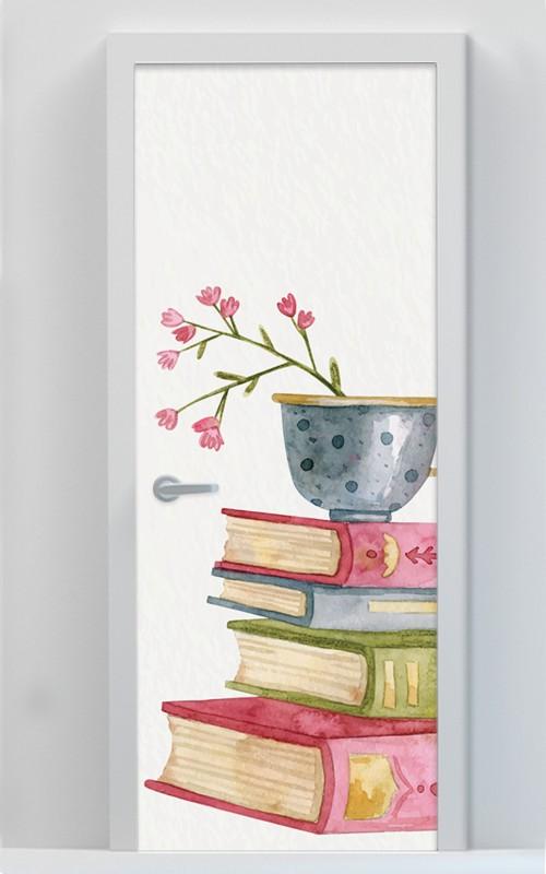 Βιβλία με Λουλούδια