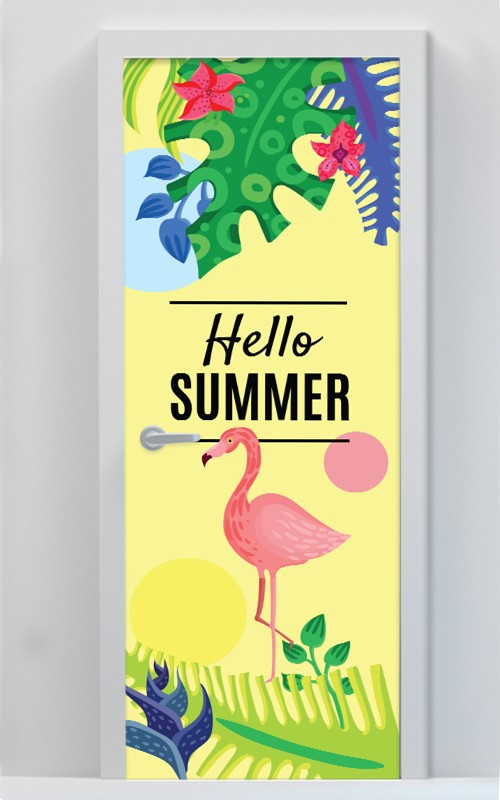 Hello Summer Φλαμίνγκο