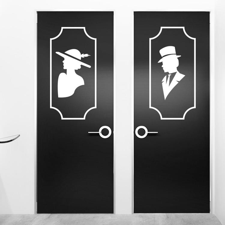 Vintage wc symbols