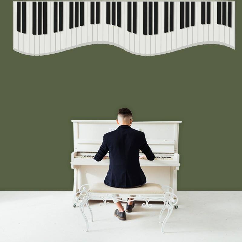 Αυτοκόλλητο Τοίχου - Πιάνο Μελωδία