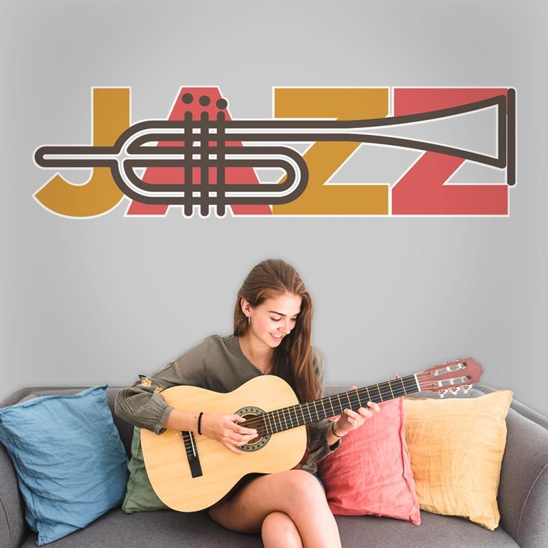 Αυτοκόλλητο Τοίχου - Jazz